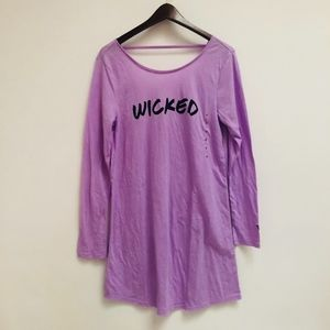 Victoria's Secret Intimates & Sleepwear - NWOT Victoria's Secret Wicked V-back sleep shirt S